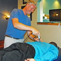 Chiropractor Greenfield WI Peter Raether impulse technique